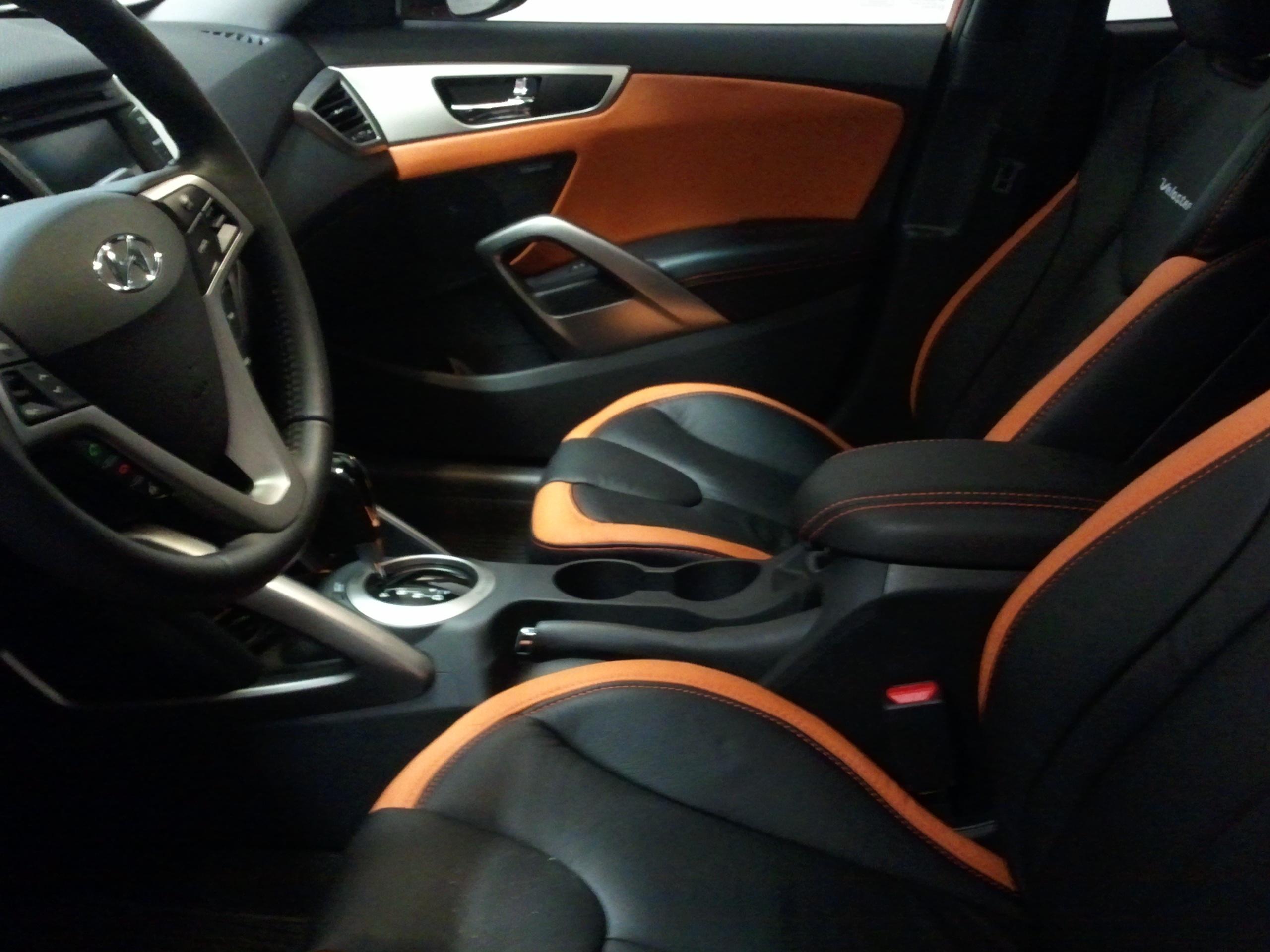 Marvelous ... Custom Leather Interior For My Vitamin C  Great Ideas