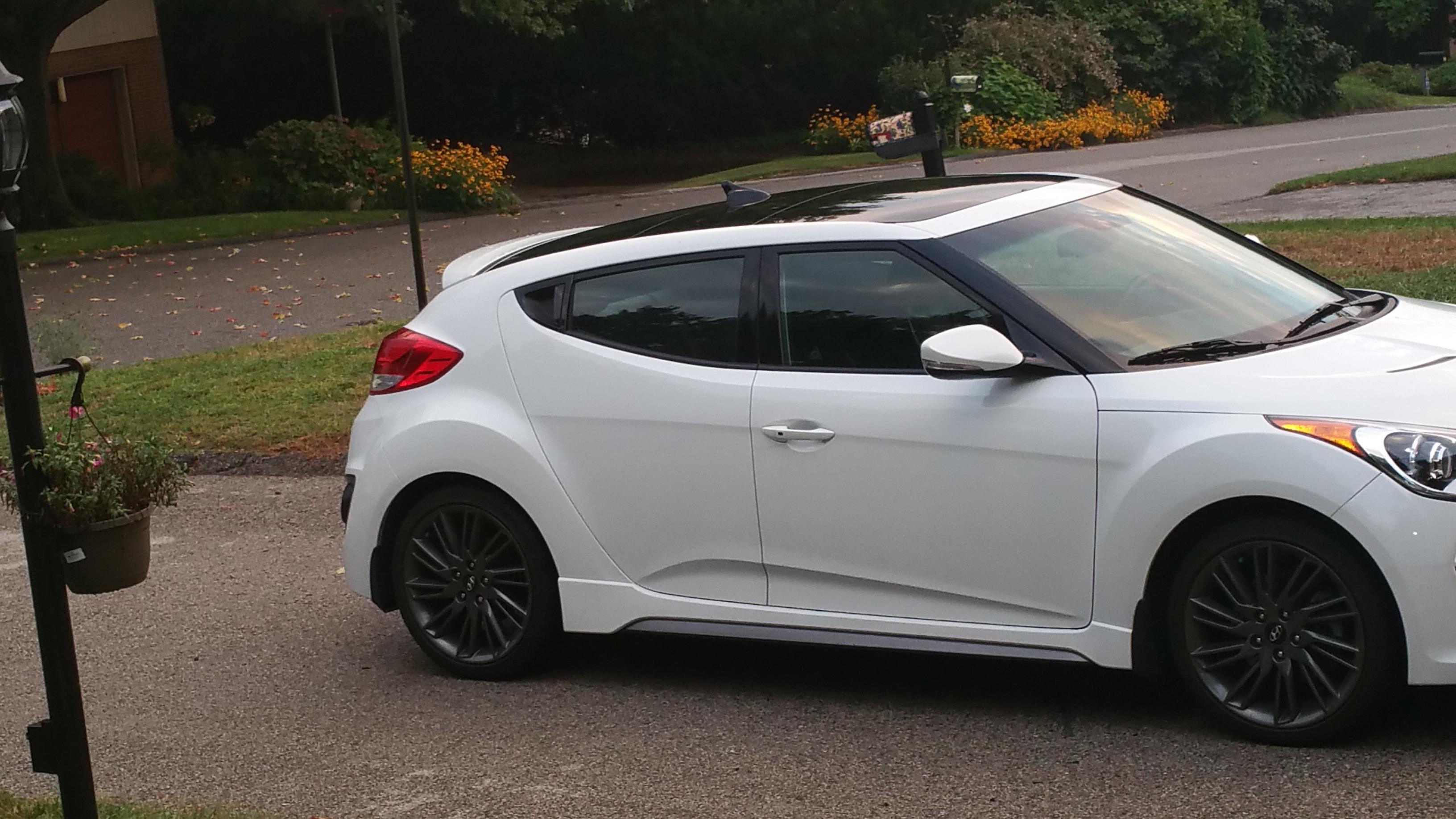 2014 Elite White Cpo With Hyundai Cpo Wrap Veloster Turbo Tech