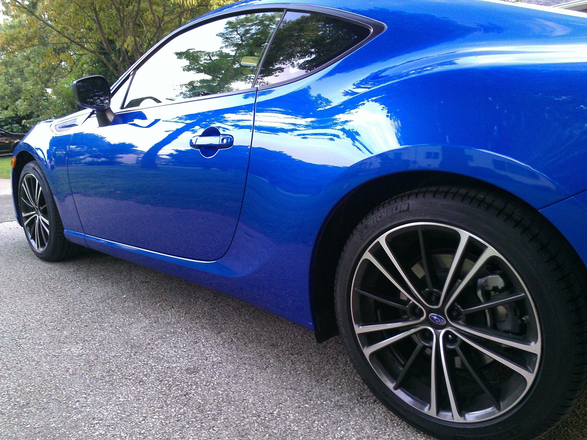 Hyundai Veloster Rally >> My 2013 WR Blue Pearl Subaru BRZ Premium :)