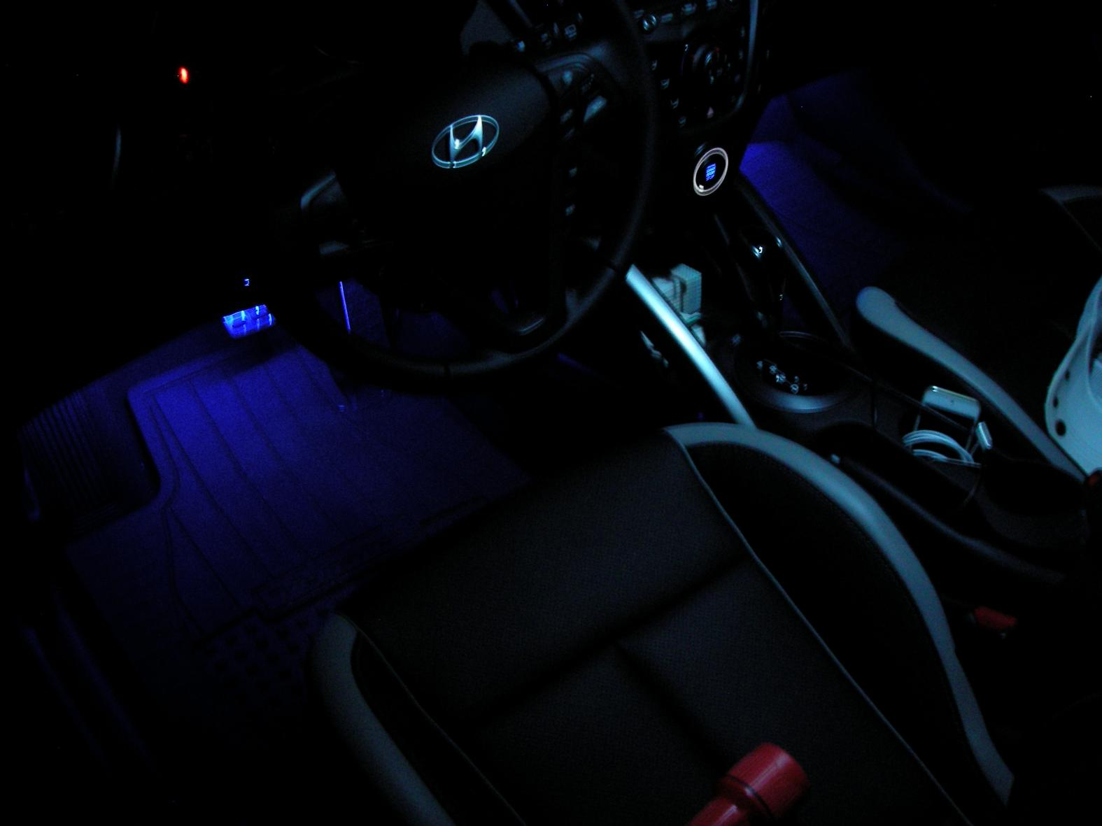 What is the light kit option what is the light kit option 734d1347171719 footwell led hyundai sciox Choice Image