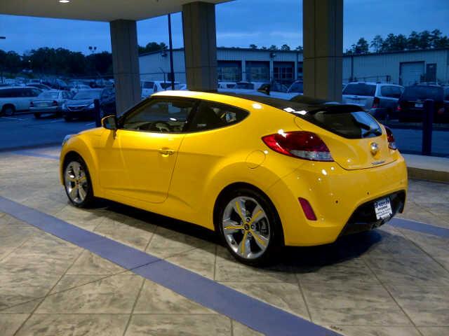 26.2 Yellow Veloster - Hyundai Aftermarket