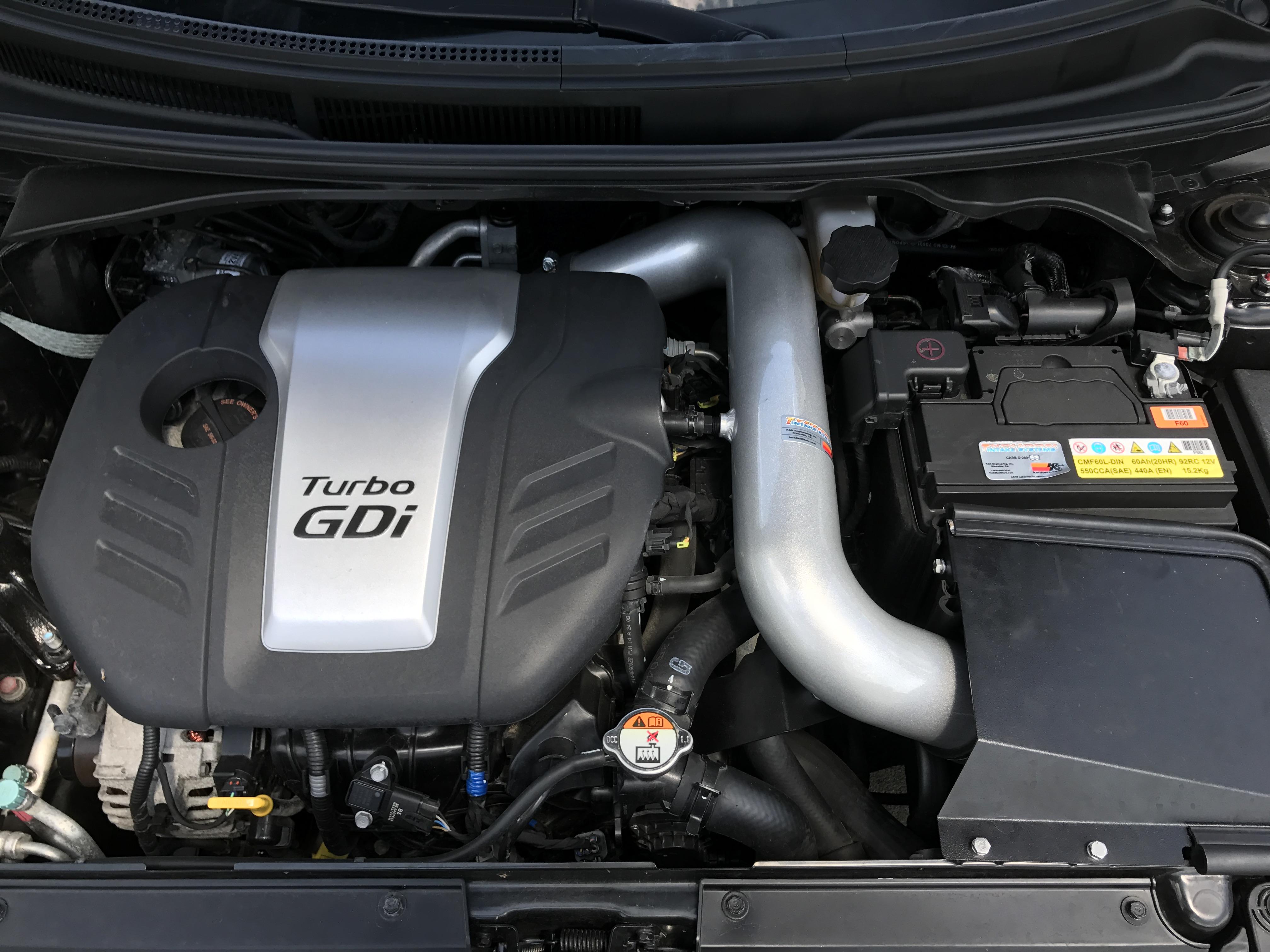 Added a $275 K&N Air Intake that adds 20 HP on dyno