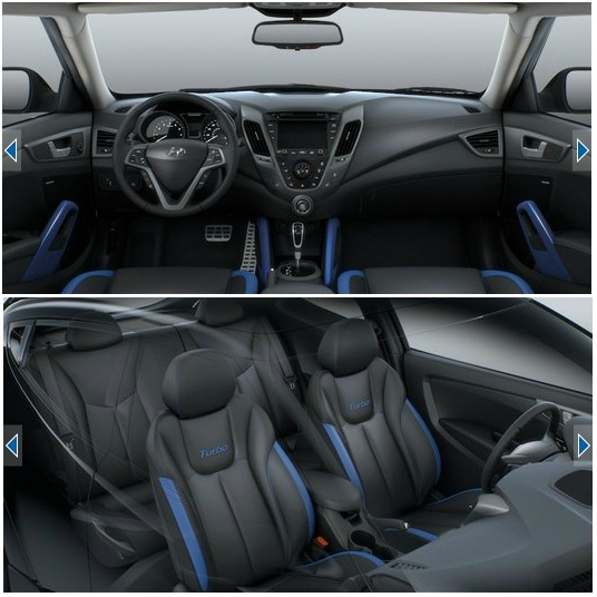 Trade Blue Leather Interior For Black Or Gray