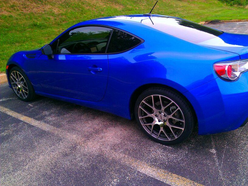 my 2013 wr Blue Pearl Subaru