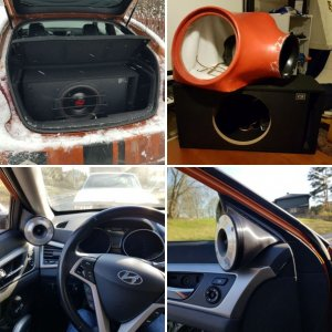 My Veloster and audio upgrade part 3